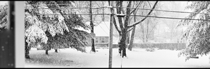 Snowstorm Pano by TRE2Photo-n-Design