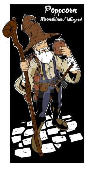 Poppcorn: Moonshiner/Wizard by wonderfully-twisted