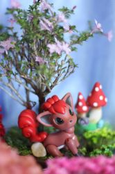 Vulpix Ball Jointed Doll by vonBorowsky