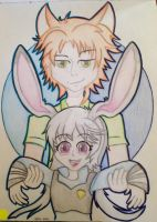 Anime Zootopia : Judy and Nick... by DAKA-DoubleAgent