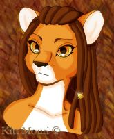 Lioness Full Color by KittMouri