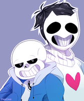 Sans And Zach by Artrmotus