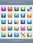 25 Free Social Networking Icon by kyo-tux