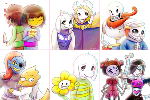 Undertale by Yereren