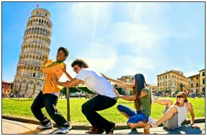 Saving the Leaning Tower by clashed