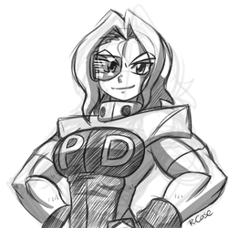 futuristic Susan doodle by rongs1234