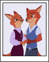 Zootopia - Let's get married by Shadeink