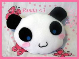 Plush Panda by MONSTERCreations