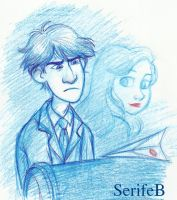 Paperman by SerifeB
