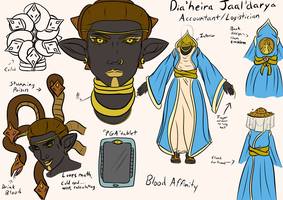 Dia'heira Jaal'Darya sheet update by Pitdragon