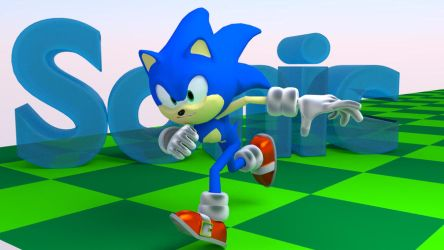 Blender Sonic by InvincibleSoul