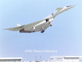 XB-70A Maiden Flight 21 Sep, 1964 by fighterman35