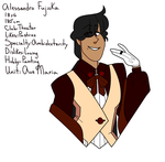 Ensemble Stars oc by Loveliestprince