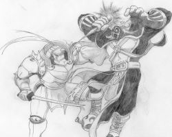Fullmetal Kingdom, Alphonse Elric VS Crimson by 4xEyes1987