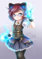 [LoL] Hextech Annie by Chiroyo