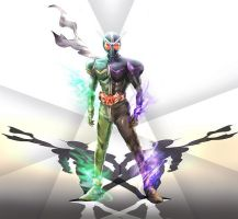 Kamen Rider Double by Kai-the-Hedgehog1990