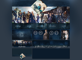 Ordered layout | Gameofthrones.blog.cz by KeviWorldArt