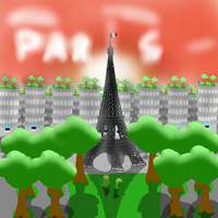 Paris by SansSkeletonHUN