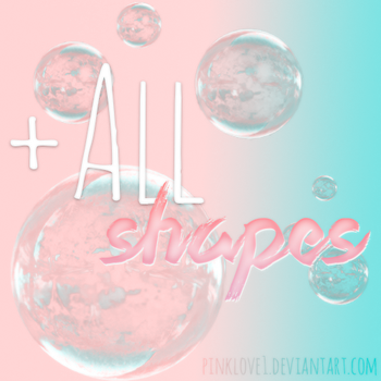 +All Shapes by PinkLove1