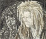 Goblin King gazing in to the crystal ball by gagambo