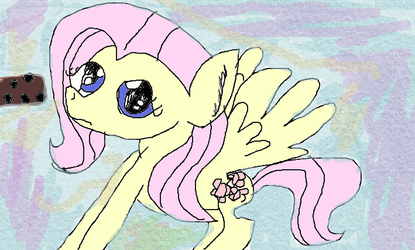 Fluttershy wants that cookie by PrincessMiAmore