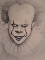 Pennywise  by gottaluvdrawing