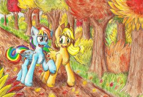 Fall Weather Stroll by Punk-Pegasus