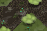 Alien Planet - Handpainted Tile Environment by Sylphiren
