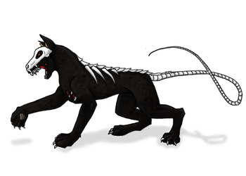 Hell Hound by SixWingedRose