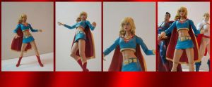 supergirl custom action figure by chachaman