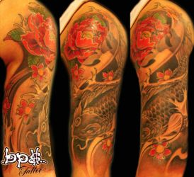 Black Coi by Olive Green 2010 by BPS-TATTOO