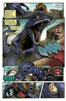 Godzilla Rulers of Earth #22 pg1 by KaijuSamurai