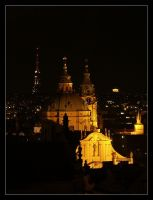 Night Prague XVIII by semik
