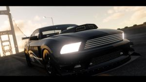ford mustang. drag. the crew (2) by DazKrieger