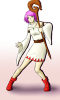 White Mage Lenna by cocosnowlo