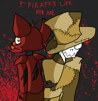 Yo ho yo ho a pirates life for me~ by eeveepaint