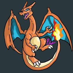 Charizard is #1 by Jonesydragon