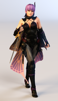 Ayane 3DS Render 8 by x2gon