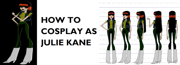 How to Cosplay as Julie Kane by Prentis-65