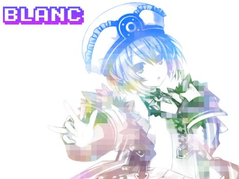 Blanc Wallpaper 1024x768 by 38Caution