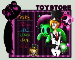 Toy Store: Thomas by RIP-Joey