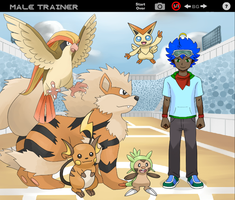 My PkmnTrainer by multidude233