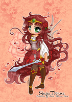Princess of Rose-Thorn Fort by YamPuff