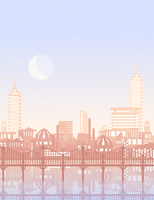 Pixel CityScape [Update!] by wrathberries