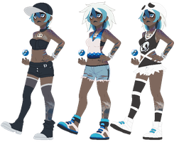 Pokemon AU - Marina