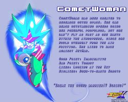 CometWoman Data Card by MegaPhilX