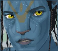 Avatar - Jake Sully by solgas