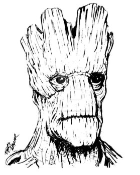 Groot by mentaldiversions