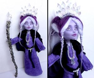 Kobold Priestess - Monster High Twyla custom by fuchskauz