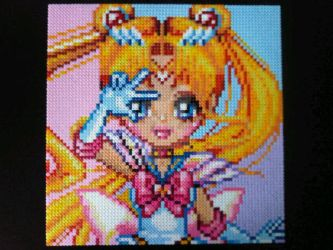 Sailor Moon Bead Sprite by Karma-Pudding